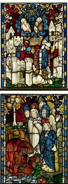Halfway through the Apocalypse at York Minster - Conservators make progress on 'largest expanse of medieval stained glass in Britain. Medieval Stained Glass, Stained Glass Church, Stained Glass Art, Stained Glass Windows, York Minster, Glass Photography, Church Windows, Art Of Glass, Historical Artifacts