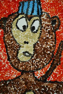 "Fishback Creek Public Academy Art Room: 3rd Grade ""Dot to Dot Seurat"""
