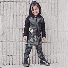 • Hoodie Suit Black Cat • #kids #fashion #clothing #fashionkids #kidsclothing #eco #sustainable #ecofashion #aw15 #print #danishdesign #popupshopnet  @mydollscloset_7