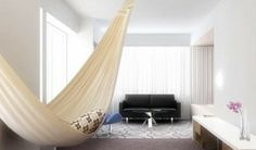 A Quiet Place: Hanging Hammocks Indoors
