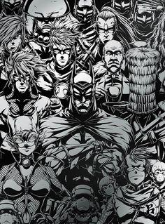 Batman Ninja, Robin, Naruto, Dark Knight, Dc Universe, Detective, The Darkest, Dc Comics, Marvel