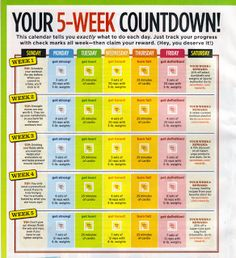 5 Week Workout Plan