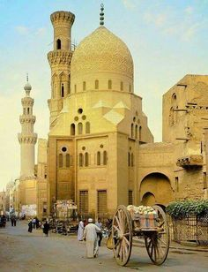 """alixanasworld: """" Cairo, 1977 """" The Aqsunqur Mosque is located in Cairo, Egypt and is one of several """"blue mosques"""" in the world. It is situated in the Tabbana Quarter in Islamic Cairo. Places Around The World, The Places Youll Go, Places To Go, Around The Worlds, Beautiful Mosques, Beautiful Places, Paises Da Africa, Egypt Travel, Islamic Architecture"""