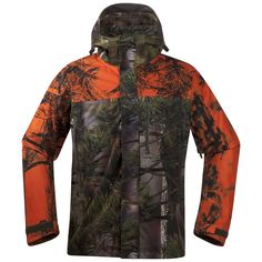From the Bergans of Norway hunting collection: the Hogna jacket, made from flexible, brushed, and silent micro fleece.