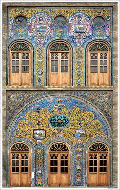 """Handmade tile Manufacturer from Iran"" Persian Architecture, Architecture Wallpaper, Futuristic Architecture, Art And Architecture, Architecture Details, Architecture Portfolio, Purple Carpet, Red Carpet, Islamic Art Pattern"