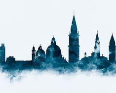 Venice Skyline by MonnPrint