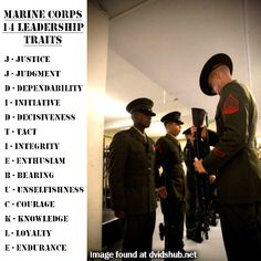essay on military leadership Leadership Traits Marine Girlfriend Quotes, Marine Corps Quotes, Marine Corps Humor, Usmc Quotes, Military Quotes, Us Marine Corps, Military Life, Marine Corps Tattoos, Military Terms