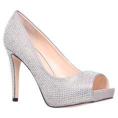 Buy Carvela Grind Peep Toe Court Shoes Online at johnlewis.com