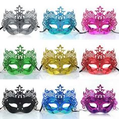 New Retro Plastic Venice Carnival Mask PVC Roman Gladiator Halloween Masks Masquerade Mask Kamen Party Masque Halloween Hot Sale Masquerade Halloween, Halloween Party Kostüm, Venetian Masquerade Masks, Masquerade Costumes, Masquerade Party, Halloween Masks, Masquerade Decorations, Quinceanera Decorations, Women Halloween