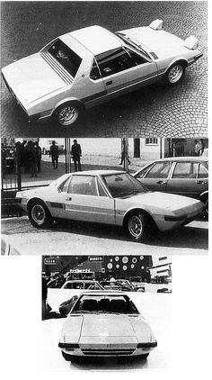OG | 1971 De Tomaso 1600GT | This prototype also designed by Tom Tjaarda was obviously copied from the Fiat X1/9 but was the first to be displayed at the 1971 Turin Motor Show.
