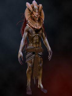 Dagoth Ur Character Art, Character Design, Elder Scrolls Games, Shadow Of The Colossus, Fantasy Setting, Dark Elf, Skyrim, Fantasy Creatures, Concept