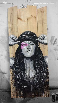 Street Art by Seaty - Toulon (France) Sept 2014 #streetart