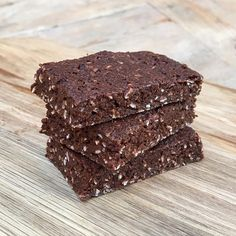 "I made these amazing chocolate & coconut ""No bake"" Protein brownies today Hit like if you want me to post the video tomorrow #leanin15"