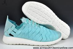 reputable site 39542 79910 Buy Discount Tropical Twist tiff blue White Nike Roshe Run Woven 555257-300  Newest Now
