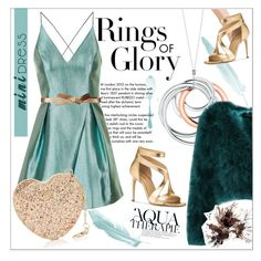 """Holiday Party"" by zafiaida on Polyvore featuring Anja, Tiffany & Co., Topshop, BCBGMAXAZRIA, Michael Kors and Furla"