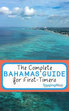Whether you visit for just one day on a cruise excursion or stay for a longer visit, TravelingMom has the Complete Bahamas Guide for First-Timers. Learn to where to stay, how to get around and the best things to do with kids in the Bahamas. Les Bahamas, Bahamas Honeymoon, Bahamas Vacation, Bahamas Cruise, Atlantis Bahamas, Bahamas Beach, Exuma Bahamas, Melia Nassau Bahamas, Nassau Bahamas Excursions