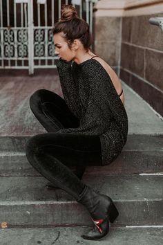 Black Velvet Legging   Prism Boutique 4d6dbd161f