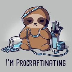 I'm Procraftinating T-Shirt TeeTurtle