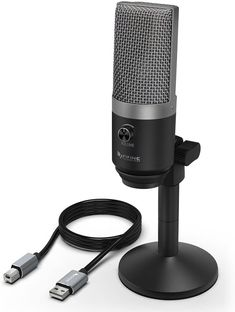 Amazon.com: USB Microphone,Fifine PC Microphone for Mac and Windows Computers,Optimized for Recording,Streaming Twitch,Voice Overs,Podcasting for YouTube,Skype Chats-K670: Musical Instruments Best Usb Microphone, Tech Gifts For Dad, Mac, Windows System, Internet Radio, Desktop Accessories, Youtube, Computers, Musical Instruments