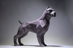 You can make your own Pit bull Dog Model DIY Paper Craft projects to create a polygonal shaped sculpture. It is a paper 3D paper sculpture that can be put together by folding, gluing and assembling. It can be placed like art or decoration. It looks really great and modern on your place. Difficulty Low Poly, King Kong, Rabbit Sculpture, Lion Sculpture, Perros Pit Bull, Parrot Flying, Origami Paper, 3d Paper, Animal Masks