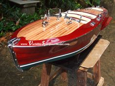 wooden speed boat - Google Search Nate's wooden speedboat