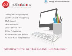 P3 Multisolutions is an interactive website development and designing company based in India.
