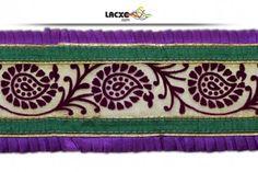 This awesome design is of Pleated Lace . Its product code is: 010186 , Its size is: 110 mm. Material used is 100% Polyester . This Pleated Lace comes with Plain decoration. As seen design pattern is Mango . Price: Rs652.00 / 9 Meter Roll