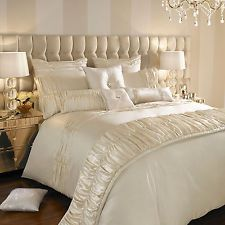 Kylie Minogue at Home Karissa Oyster Bed Linen and Matching Accessories