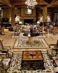 Interior del Hotel Llao-Llao, Bariloche , Río Negro.