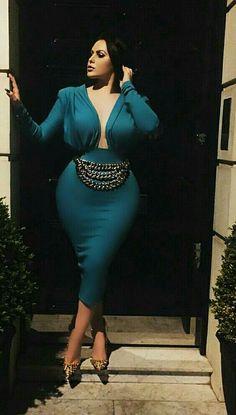 Beautiful night life dress #plussize #plussizefashion #dresses