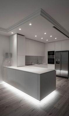 Home Decor Kitchen .Home Decor Kitchen Luxury Kitchen Design, Kitchen Room Design, Dream Home Design, Kitchen Cabinet Design, Home Decor Kitchen, Modern House Design, Interior Design Kitchen, Home Kitchens, Dream Kitchens