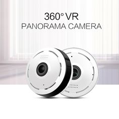 Video Surveillance Hospitable 720p Wifi Panoramic Camera 360 Degree Fish-eye Smart Home Security Surveillance Baby Monitor Webcam Wireless Night Vision Camera Modern Design