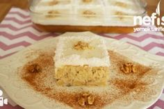 Pasta Ara Kreması (Başka Tarif Denemeyeceksiniz) - Nefis Yemek Tarifleri Vanilla Cake, Tart, Biscotti, Cheesecake, Pudding, Ethnic Recipes, Desserts, Food, Koh Tao