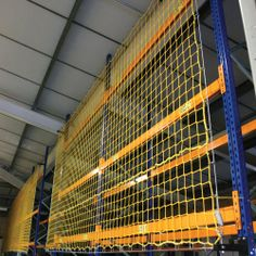Back of Rack Safety Netting
