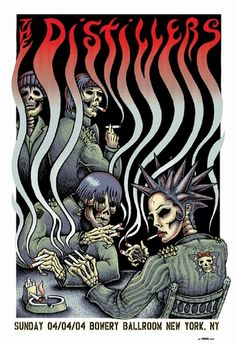 The Distillers Poster by Emek