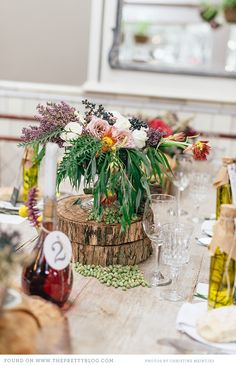 Italian inspired table decor | Photo: Christine Meintjes, Decor & Flowers: Absolute Perfection