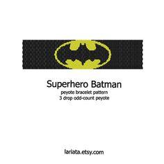 Hey, I found this really awesome Etsy listing at https://www.etsy.com/listing/73582624/superhero-symbol-batman-3drop-peyote