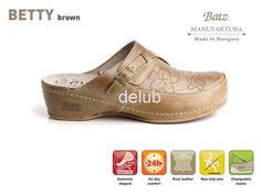 BATZ obuv BETTY - Dámska obuv Batz, Batz Real Leather, Derby, Clogs, Oxford Shoes, Dress Shoes, Lace Up, Brown, Men, Fashion