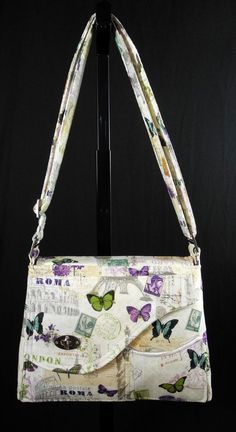 PDF Cross body bag sewing pattern Bella by ChicagoCoutureBags