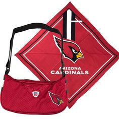 Arizona Cardinals NFL Fandana and Jersey Purse Set