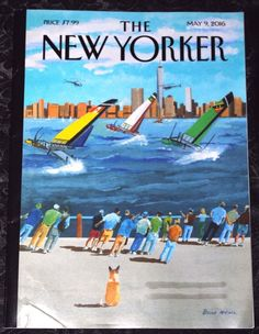 THE NEW YORKER MAGAZINE  May 9, 2016