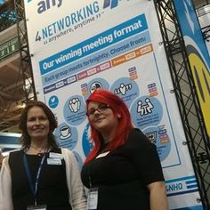 It's the #4networking stand looking awesome again #tbs2013 @Brad Burton nhq