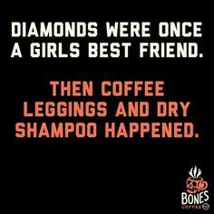 Coffee Leggings Dry Shampoo