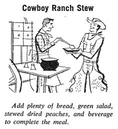 Color Our Collections! Cowboy Ranch, Stew, Hello Kitty, Coloring, Peach, Illustration, Vintage, Collection, Peaches