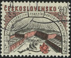 Czechoslovakia: 20th Anniversary of the Liberation of Theresienstadt