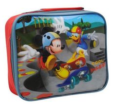 MICKEY MOUSE ~ Mickey & Donald Lunch Bag