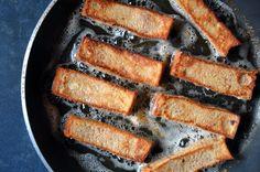 Easy Cinnamon French Toast Sticks from justataste.com #recipe