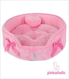 Heart House Dog Bed