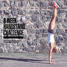 We're officially onto Week 5 of the Handstand Challenge! This week we're focusing on building core strength with hollow body holds. They're tougher than they look! Check out this week's challenge instructions and get your homework: Handstand Progression, Handstand Challenge, Workout Challenge, 12 Week Challenge, Fat Workout, Handstand Training, Yoga Handstand, Handstands, Acro