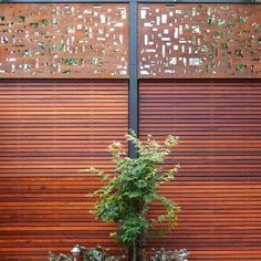 Metal Screens, Metal Garden & Privacy Screening - Chippys Outdoor Melbourne – Chippy's Outdoor Outdoor Screens, Rusted Metal, Outdoor Kitchen Decor, Privacy Screen, Metal Screen, Front Garden, Screened In Patio, Metal Garden Screens, Privacy Screen Deck